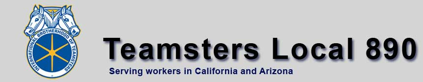 Teamster Airline Division. Teamsters Local 890
